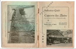 Indicateur Guide De Capvern Les Bains Offert Par Les Nouvelles Galeries - Midi-Pyrénées