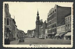 +++ CPA - MERKSEM - Bredabaan   // - Antwerpen