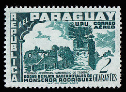 PARAGUAY - Scott #C225 Sacerdotal Of Agustin Rodriguez, 25th Anniv. / Mint H Stamp - Paraguay