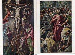 EL GRECO-ENTKLEIDUNG-LA CRUCIFIXION - Pittura & Quadri