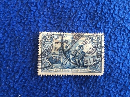 Stamp: Germany, 1902-11, Canceled & Hinged From Deutschland Series 2 Marks - Germany