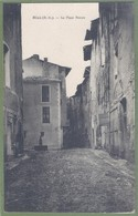CPA Vue Rare -  ALPES DE HAUTE PROVENCE - RIEZ - LA PLACE NEUVE - - France