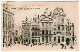 Brussel, Bruxelles, Maisons Du Grand Duc Charles De Lorraine Et Du Prince D'orange (pk52186) - Marktpleinen, Pleinen