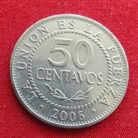 Bolivia 50 Centavos 2006 KM# 204  Bolivie - Bolivie
