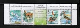 SERBIE MONTENEGRO  NEUF Sans Charnière N° 3066 à 3069   N**  BANDE  OISEAUX  Cte: 6,00€ (?) - Montenegro