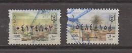 2 Fiscal Stamps 2003 & 2004 1000L Revenue Lebanon Tyre & Jbeil  , Liban Libanon - Lebanon