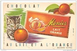 CHOCOLAT MENIER / LAIT ORANGE - Chocolat