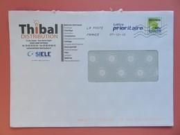PAP - Entier Postal - Carte De France - THIBAL - Rue Denis Papin - St Affrique - Flamme Muette 07.12.13 - Entiers Postaux
