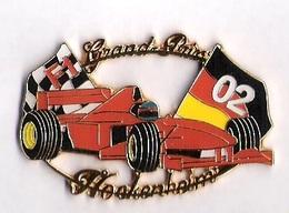 Pin'S FORMULE 1 -  GRAND PRIX HOCKENHEIM 2002 - FERRARI - F1