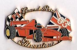 Pin'S FORMULE 1 -  GRAND PRIX SILVERSTONE 2003 - FERRARI - F1