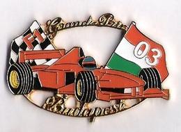 Pin'S FORMULE 1 -  GRAND PRIX BUDAPEST 2003 - FERRARI - F1