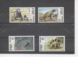 CONGO - Faune - Animaux Préhistoriques : Moschops, Tyranosaurus, Cryptocleidus, Stegausorus - Congo - Brazzaville