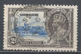 Gibraltar 1935. Scott #100 (U) King George V, Silver Jubilee * - Gibraltar
