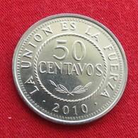 Bolivia 50 Centavos 2010 KM# 216  Bolivie - Bolivie