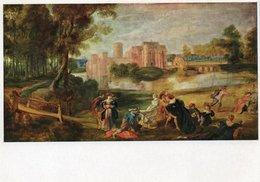 RUBENS-PARK WITH A CASTLE - Pittura & Quadri