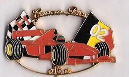 Pin'S FORMULE 1 -  GRAND PRIX SPA 2002 - FERRARI - F1