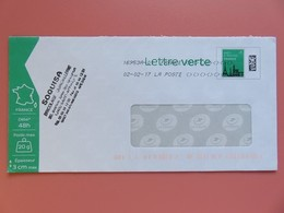 PAP - Entier Postal - Monuments - Tour Eiffel - SOQUISA - St Affrique - Flamme Muette 02.02.17 - Entiers Postaux