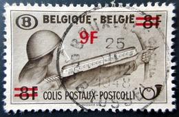 1948 Belgique Yt CP298 - Mi PP24 Parcel Post: Archer With Red Surcharge . Oblitération BRUXELLES - Chemins De Fer