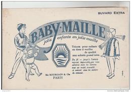 BUVARD TEXTILE VESTIMENTAIRE BABY MAILLE - Etablissements BOURGAIN Et Cie Paris - Textile & Clothing