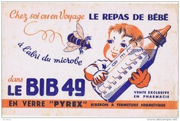 Buvards LE BIB 49 Le Repas De Bébé - Bambini