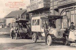 CPA De PONT-AUDEMER - Bureaux Des Messageries Automobiles. - Pont Audemer