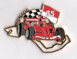 Pin'S FORMULE 1 -  GRAND PRIX MONACO  2005 - FERRARI - F1