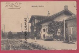 70 - LEFFOND---La Halte---train---animé - Francia