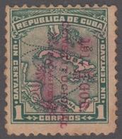 1917-340 CUBA REPUBLICA. 1917. 1c. REVOLUCION DE LA CHAMBELONA. ORIGINAL. SIN GOMA. - Cuba