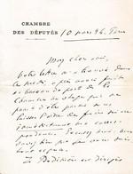 1894 - L.A.S. Clovis HUGUES (1851-1907) - Député Des BOUCHES-du-RHÔNE - Félibrige - Boulangiste - DUEL - Prison ... - Autographes
