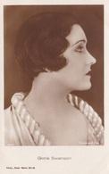 GLORIA SWANSON OLD POSTCARD (491) - Actors