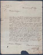 Manuscrit De 1819.Thouars. - Manuscrits
