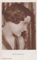 GLORIA SWANSON OLD POSTCARD (500) - Actors