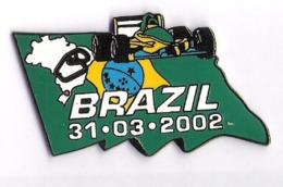 Pin'S FORMULE 1 -  GRAND PRIX DU BRESIL 2002 - F1