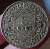 Monnaie 5 Francs 1946 Maroc - Maroc