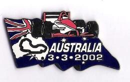 Pin'S FORMULE 1 -  GRAND PRIX D'AUSTRALIE 2002 - F1