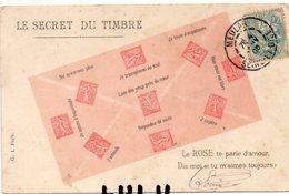 POSTE 1 : Précurseur : Le Secret Du Timbre Le Rose ( En Semeuse ) - Poste & Facteurs