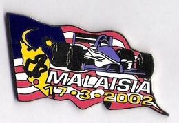 Pin'S FORMULE 1 -  GRAND PRIX DE MALAISIE  2002 - F1