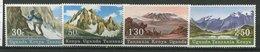 Uganda-Kenya - Tanzanie ** N° 166 à 169 - Massifs Montagneux - Timbres