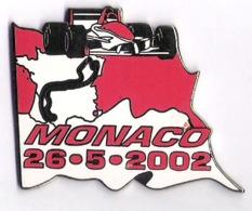 Pin'S FORMULE 1 -  GRAND PRIX DE MONACO  2002 - F1