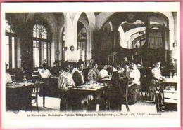 """Carte Postale """"Cart'Com"""" - Série Restaurant, Bar, Café - Le Télégraphe (La Maison Des Dames Des Postes) - Poste & Facteurs"""
