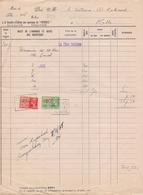 1938: Facture De La ## Société D'Édition Des Journaux Du «PATRIOTE», BXL. ## à ## Mr. Le Notaire A. RUTSAERT, MELLE ## - Imprenta & Papelería