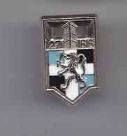 Pin's 27 ème R.I 1616 Réf 6346 - Militair & Leger