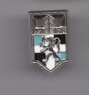 Pin's 27 ème R.I 1616 Réf 6346 - Militaria