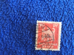 Stamp: Germany,1924, Imperial Eagle Series, 10pf Canceled & Hinged - Used Stamps