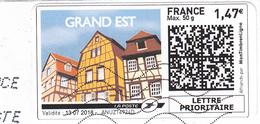 FRANCE - Montimbrenligne / Grand Est - 50g  - 2018 / Sur Fragment - France