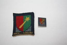 "Insigne Et Patch ""Rhin Et Danube"" - Army"