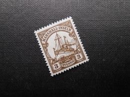 D.R. 26  3Pf**/MNH - 1919 - Marshall-Inseln - Kolonie: Marshall-Inseln