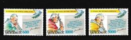 Vatikaan 1993 Nr 963/65 **, Zeer Mooi Lot Krt 4017 - Vatican