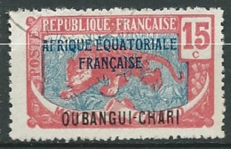 Oubangui -  Yvert  N° 49  Oblitéré   - Ai 27406 - Usati