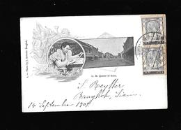 C.P.A. DE LA REINE DU SIAM... - Cartes Postales